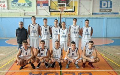 Позивни кошаркашки турнир гимназија у Жабљу, прво место.