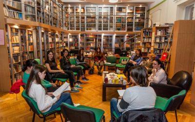Књижевно вече – сусрет Читалачког клуба секцијеМлади библиотекари