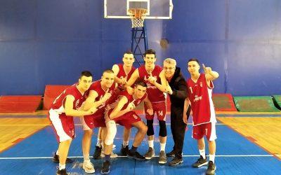Окружно такмичење у баскету 3х3, прво место – 28. 03. 2019.