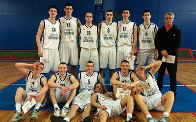 Окружно такмичење у кошарци, прво место – 25. 03. 2019.